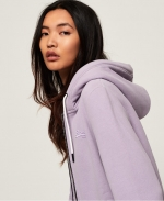 SUPERDRY HOODIE OL ELITE ZIPHOOD Dusty Lilac