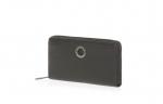 MANDARINA DUCK MELLOW LEATHER zip around wallet nero