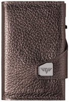 TRU VIRTU Portemonnaie CLICK & SLIDE Brown Metallic/Brown