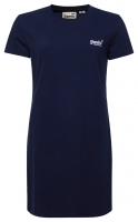 SUPERDRY OL T_ SHIRT DRESS Atlantic Navy