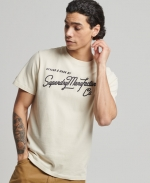 SUPERDRY OL VINTAGE EMB CREW Nautical Yellow Space Dye