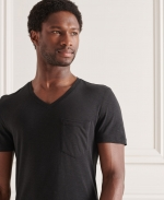 SUPERDRY CORE LOGO TAG TEE Black