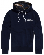 SUPERDRY SUPER 5S HOOD Rich Navy