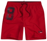 SUPERDRY WATERPOLO SWIM SHORT Flag Red