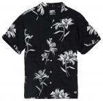 SUPERDRY HAWAIIAN BOX S/S SHIRT Venice Flower Black