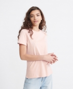 SUPERDRY OL ELITE CREW TEE Elite Dusty Pink