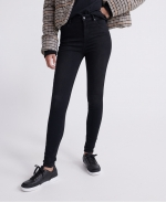 Superdry HIGH RISE SKINNY 30 Black