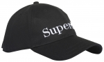 SUPERDRY EMBROIDERY CAP Black
