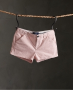 SUPERDRY CHINO HOT SHORT Peach Whip