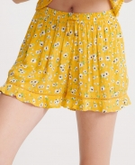 SUPERDRY SUMMER BEACH SHORT Yellow Floral