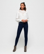 SUPERDRY Cassie Skinny Jeans Clear Rinse