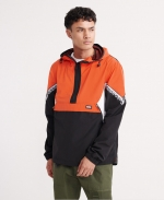 SUPERDRY JARED OVERHEAD CAGOULE Bold Orange