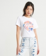 SUPERDRY SODA TROPICAL ENTRY TEE Optic T-Shirt