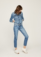 Pepe Jeans MABLE STRAIGHT FIT MID WAIST JEANS