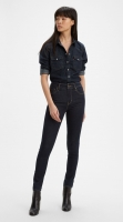 LEVIS 721 HIGH RISE SKINNY - TO THE NINE