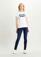 LEVIS THE PERFECT TEE - BATWING GREENERY FILL WHITE T-SHIRT