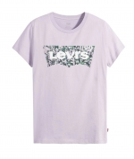 LEVIS THE PERFECT TEE - BATWING FLORAL FILL LAVENDER FROST T-SHIRT