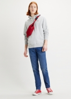 LEVIS NEW ORIGINAL HOODIE - ECO GRAY HEATHER