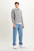 LEVIS NEW ORIGINAL CREW - CHISEL GREY HEATHER
