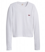LEVIS Long Sleeve BABY TEE - WHITE