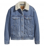 LEVIS EX-BF SHERPA TRUCKER - ADDICTED TO LOVE
