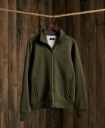 SUPERDRY OL CLASSIC TRACK TOP Winter Khaki Grit