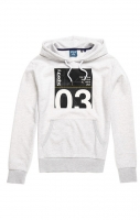 SUPERDRY CL TRANSIT HOOD Ice Marl