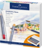 Faber Castell Goldfaber Aqua Aquarellfarbstift Studiobox