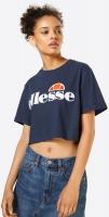 ELLESSE Alberta Crop T-Shirt Navy