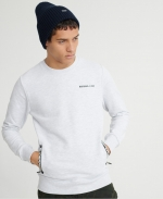 SUPERDRY URBAN ATHLETICS POCKET CREW Ice Marl