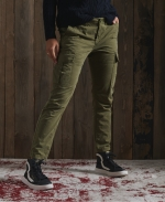 SUPERDRY Slim Cargo Pants Tuscan Olive