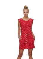 RAGWEAR TAG DOTS Jerseykleid RED