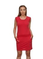 RAGWEAR PENELOPE Jersey Kleid RED
