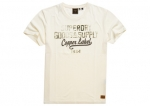 SUPERDRY SS WORKWEAR GRAPHIC TEE 220 Off White Marl