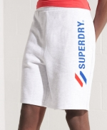 SUPERDRY SPORTSTYLE APPLIQUE SHORT Ice Marl