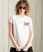 SUPERDRY WORKWEAR GRAPHIC TEE Oyster