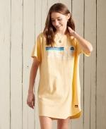 SUPERDRY CALI SURF RAGLAN TSHIRT DRESS Mellow Sun