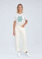 Pepe Jeans LEXA SKY HIGH Off White / Wide Leg