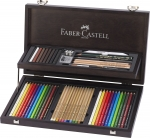 Faber-Castell Art & Graphic Compendium Holzkoffer