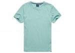 SUPERDRY Vintage Logo T-Shirt aus Bio-Baumwolle Sage Marl