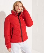 SUPERDRY Non Hooded Sports Puffer Jacket Risk Red