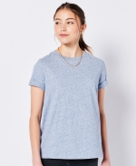 SUPERDRY Vintage Logo T-Shirt aus Bio-Baumwolle La Blue Marl
