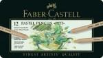 Faber-Castell - Farbstift PITT PASTEL 12er