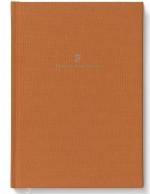 Buch mit Leineneinband A6 Orange