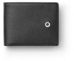 Graf von Faber-Castell - Kreditkartenetui schwarz Saffiano klein